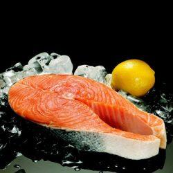 """Wild"" Alaskan Sockeye Salmon Steaks - per lb-0"