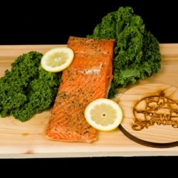 Smoked King Salmon Fillet - Lemon Pepper-0