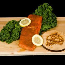 Smoked King Salmon Fillet - Cajun Style-0
