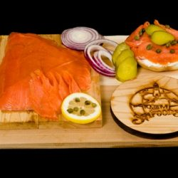Smoked King Salmon Lox / Pre-sliced-0