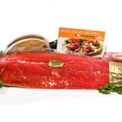 Smoked Red Salmon Fillet - per lb-0