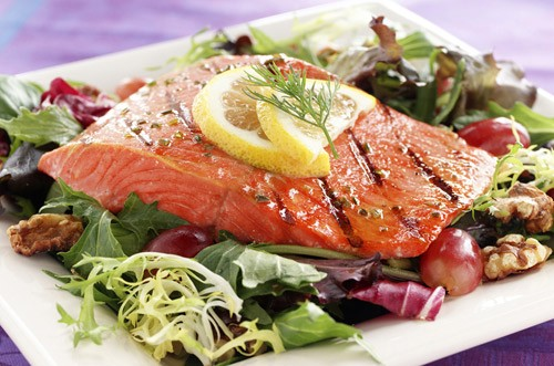 """Wild"" Alaskan King Salmon Fillets - per lb -0"