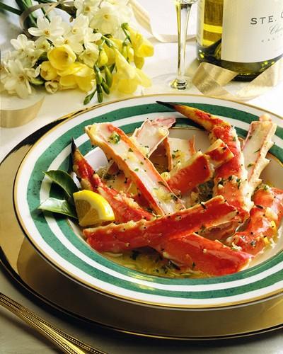 Jumbo Alaskan Golden King Crab Legs & Claws - per lb-0