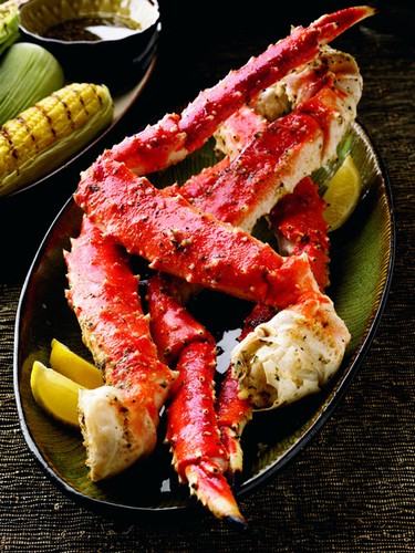 Colossal Alaskan Red King Crab Legs & Claws - per lb-0