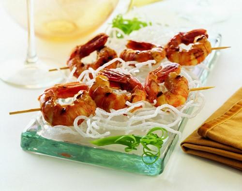 Frozen Alaska Side Striped Shrimp - per lb-0