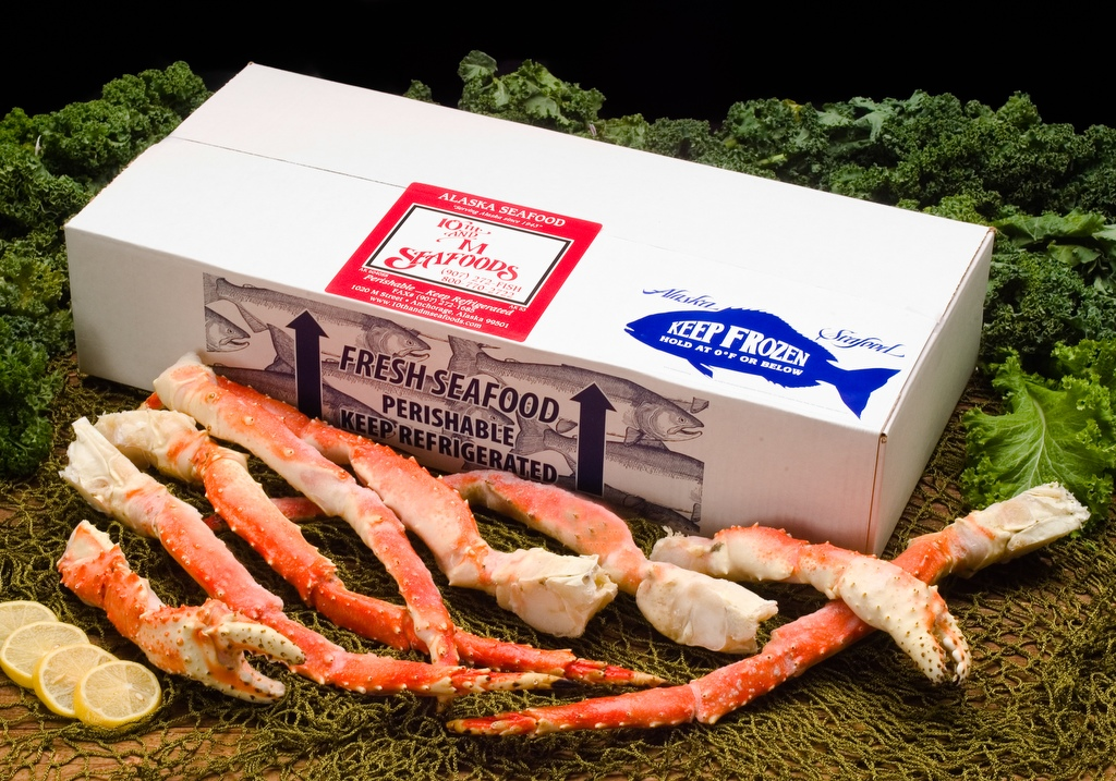 5 lbs - Colossal Alaskan Red King Crab Legs & Claws-0
