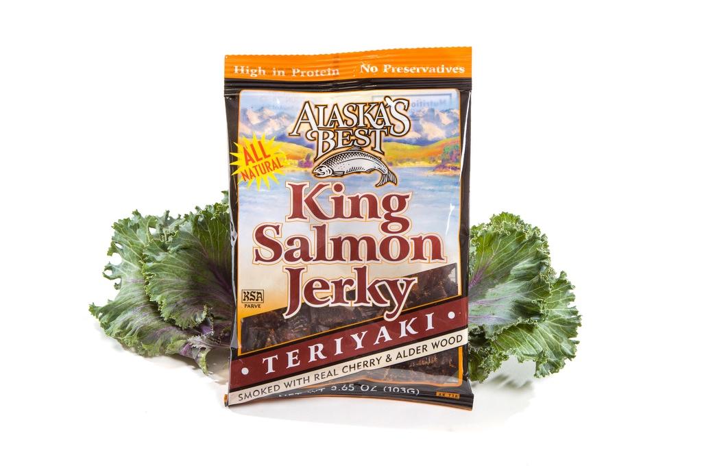 Salmon Jerky/Teriyaki 3.65oz.-0