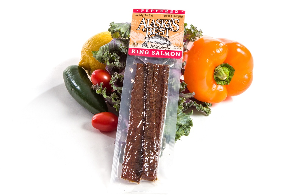 Salmon Jerky/Peppered 1.1 oz.-0