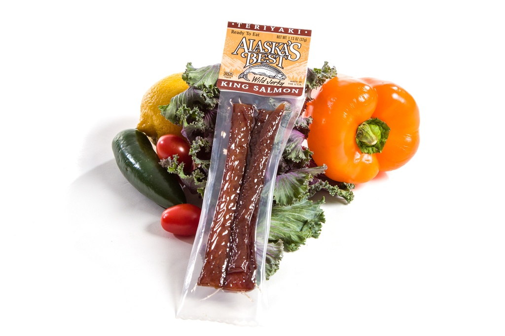 Salmon Jerky/Teriyaki 1.1oz.-0