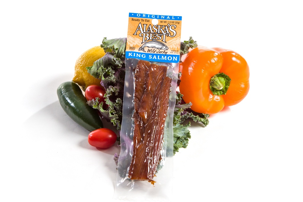 Salmon Jerky/Regular 1.1oz-0