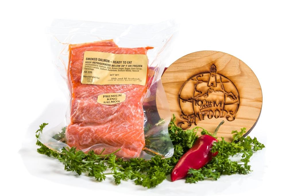 Smoked King Salmon Fillet - per lb-0
