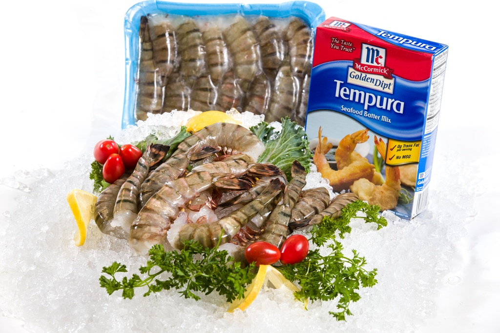 Frozen Black Tiger Shrimp - JUMBO-0