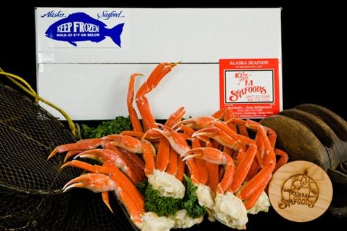 10 lb Alaskan Snow Crab Legs-0