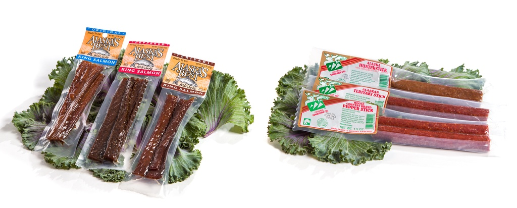 Fisherman & Hunter Pack - Salmon Jerky and Alaska Meat Sticks-0
